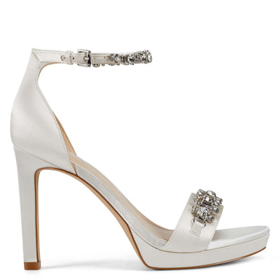 Engaged Heeled Ankle Strap Sandals