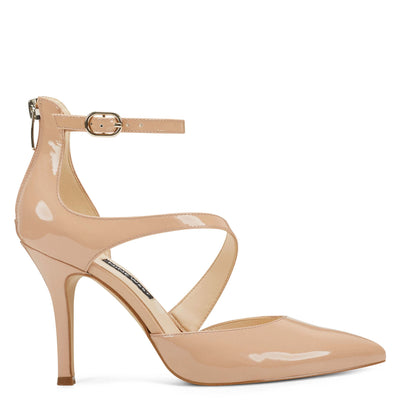 Fawn Ankle Strap Pumps