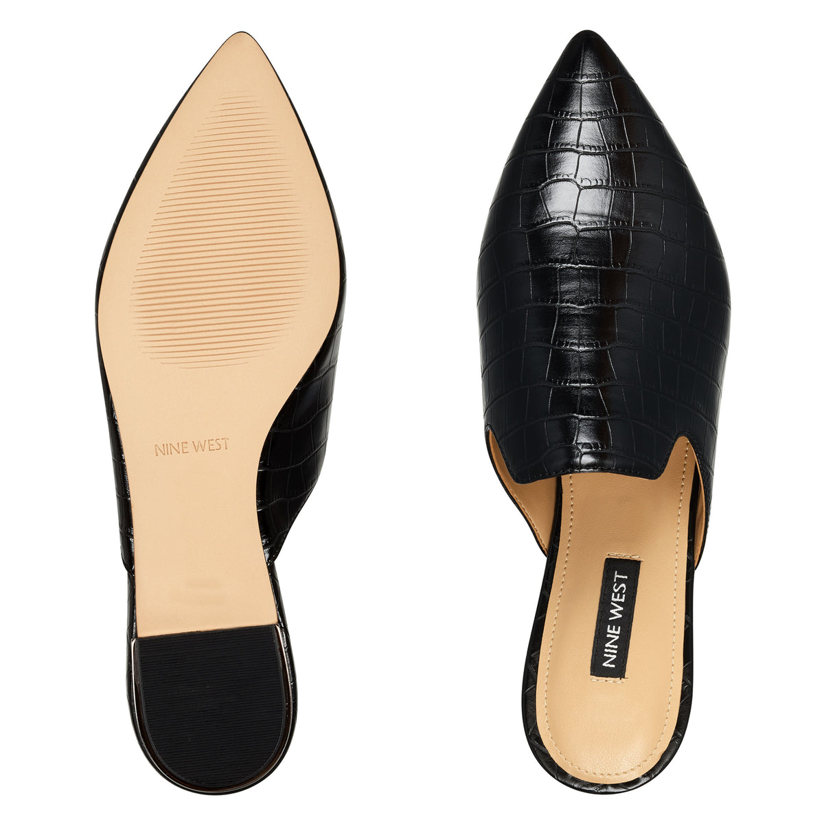 Foley Pointy Toe Mules
