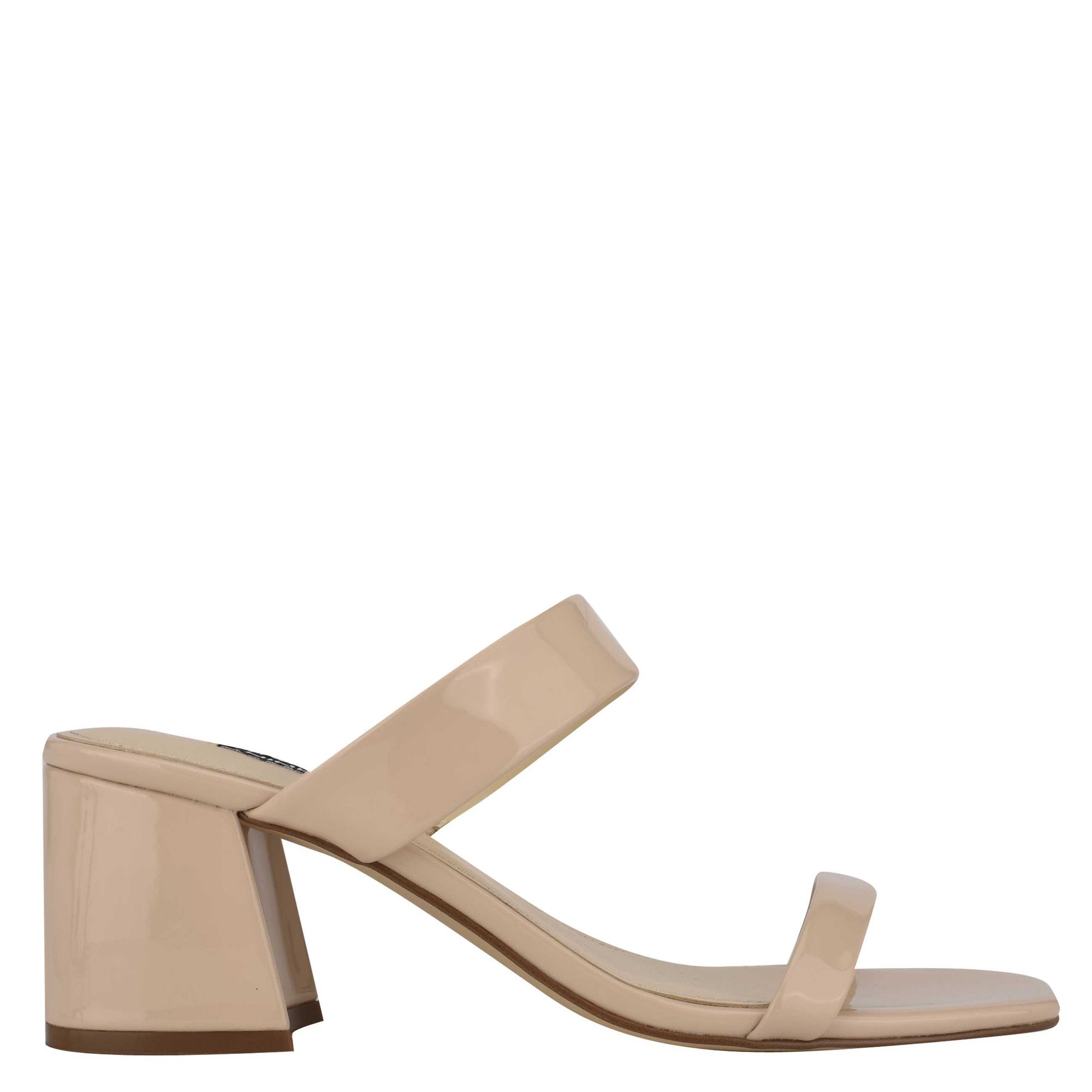 Galvin Block Heel Slide Sandals