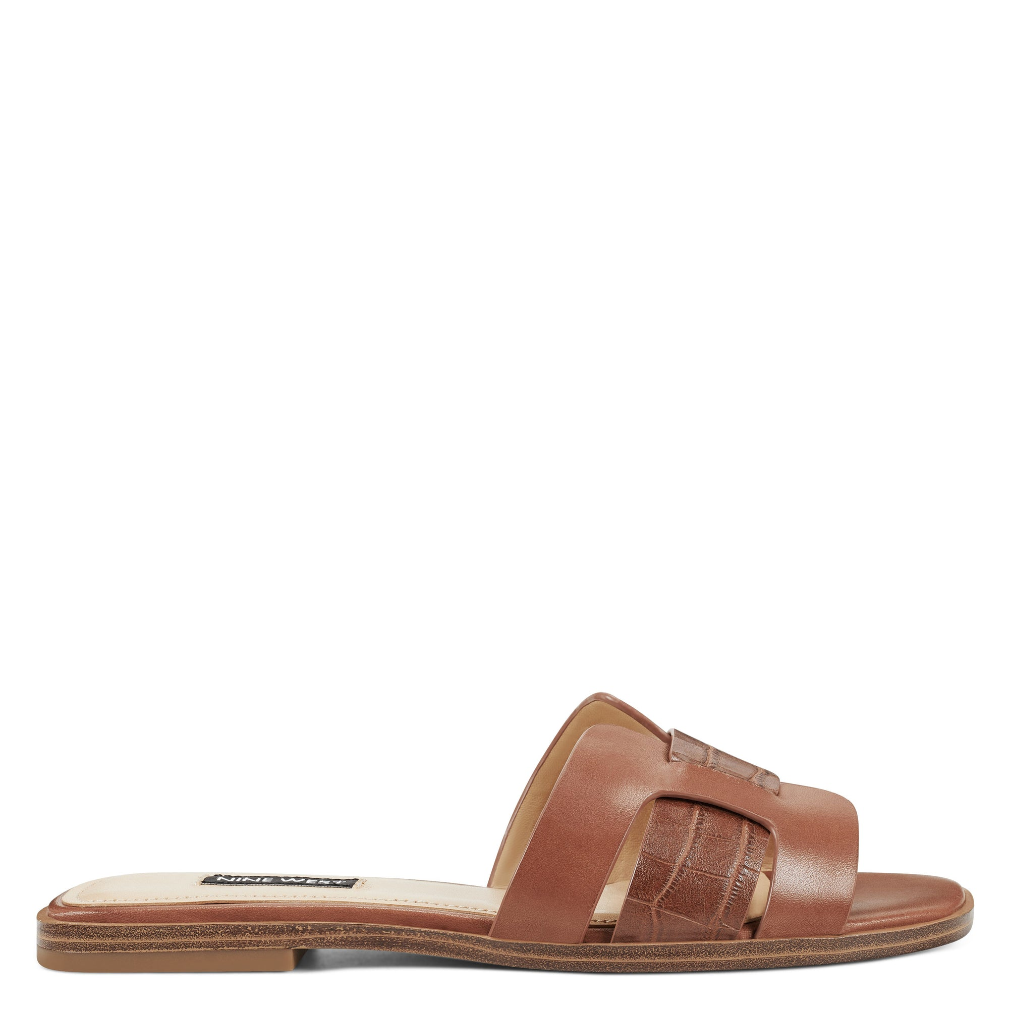 Genuine Flat Slide Sandals