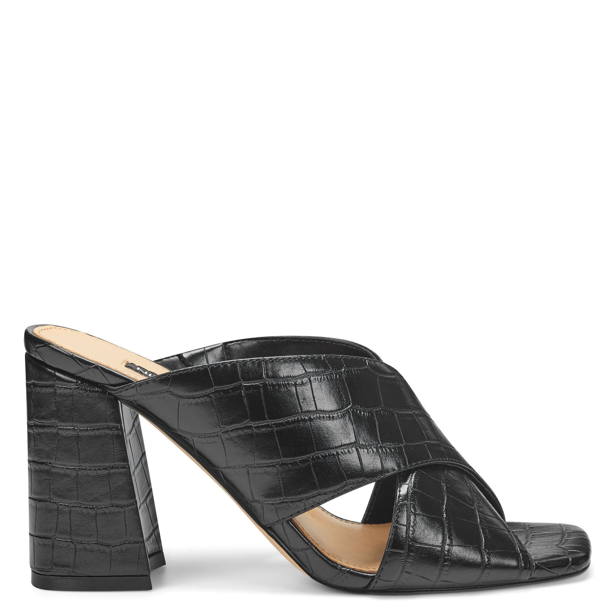 gigi-block-heel-slide-sandals-in-black-embossed-croco