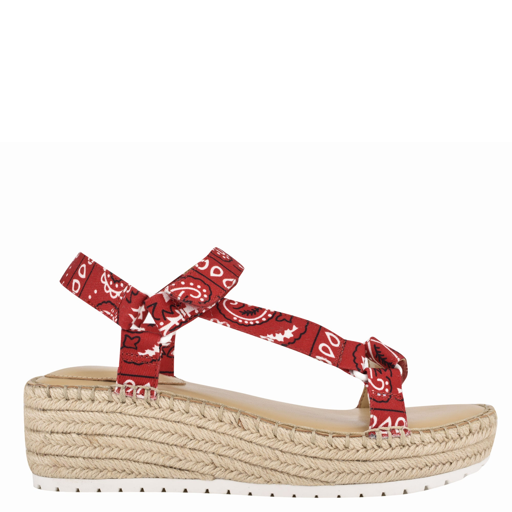 Glampin Espadrille Wedge Sandals