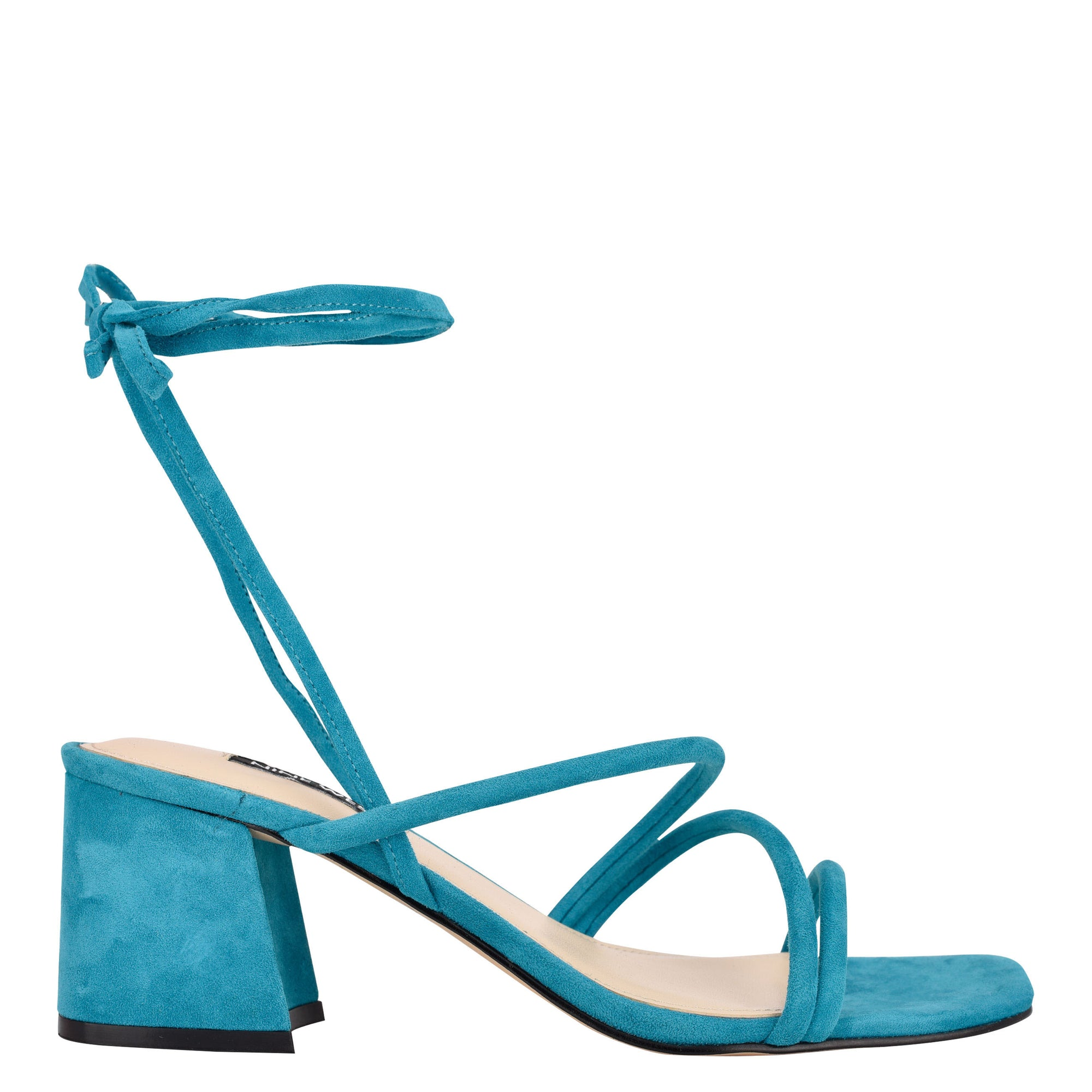 Gorg Ankle Wrap Block Heel Sandals