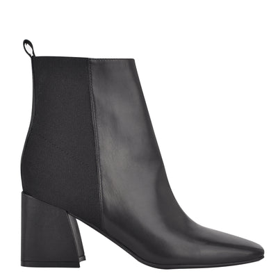 Griffin Block Heel Booties