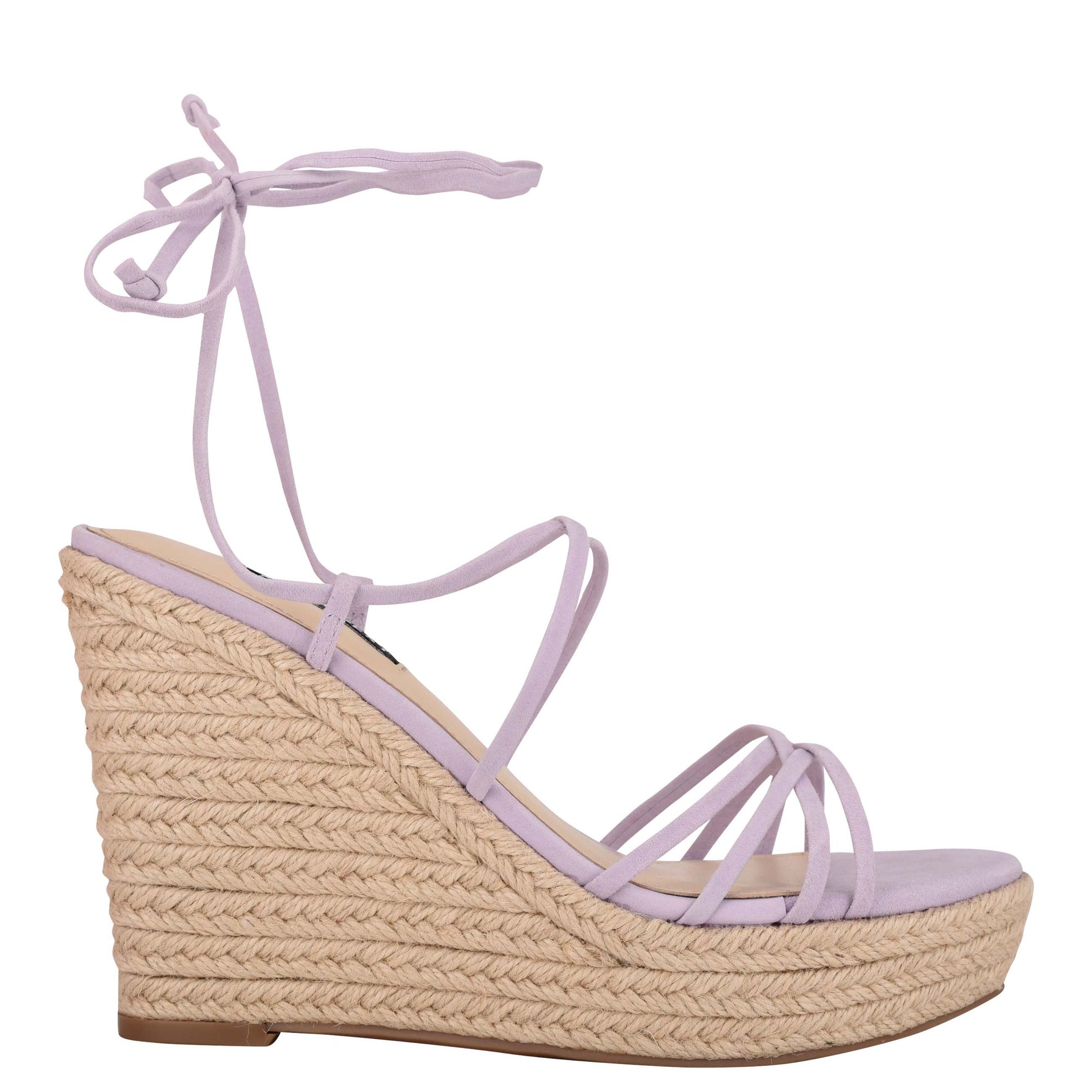 Havefun Ankle Wrap Espadrille Wedge Sandals