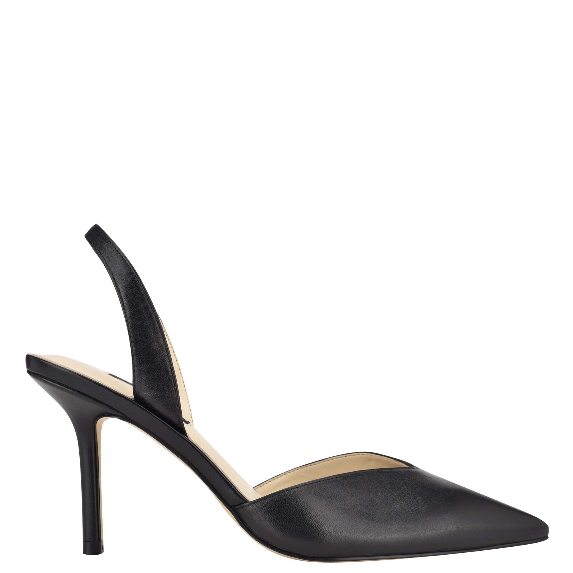 Hello Pointy Toe Heeled Slingbacks