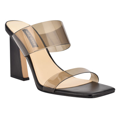 Instaa Heeled Slide Sandals