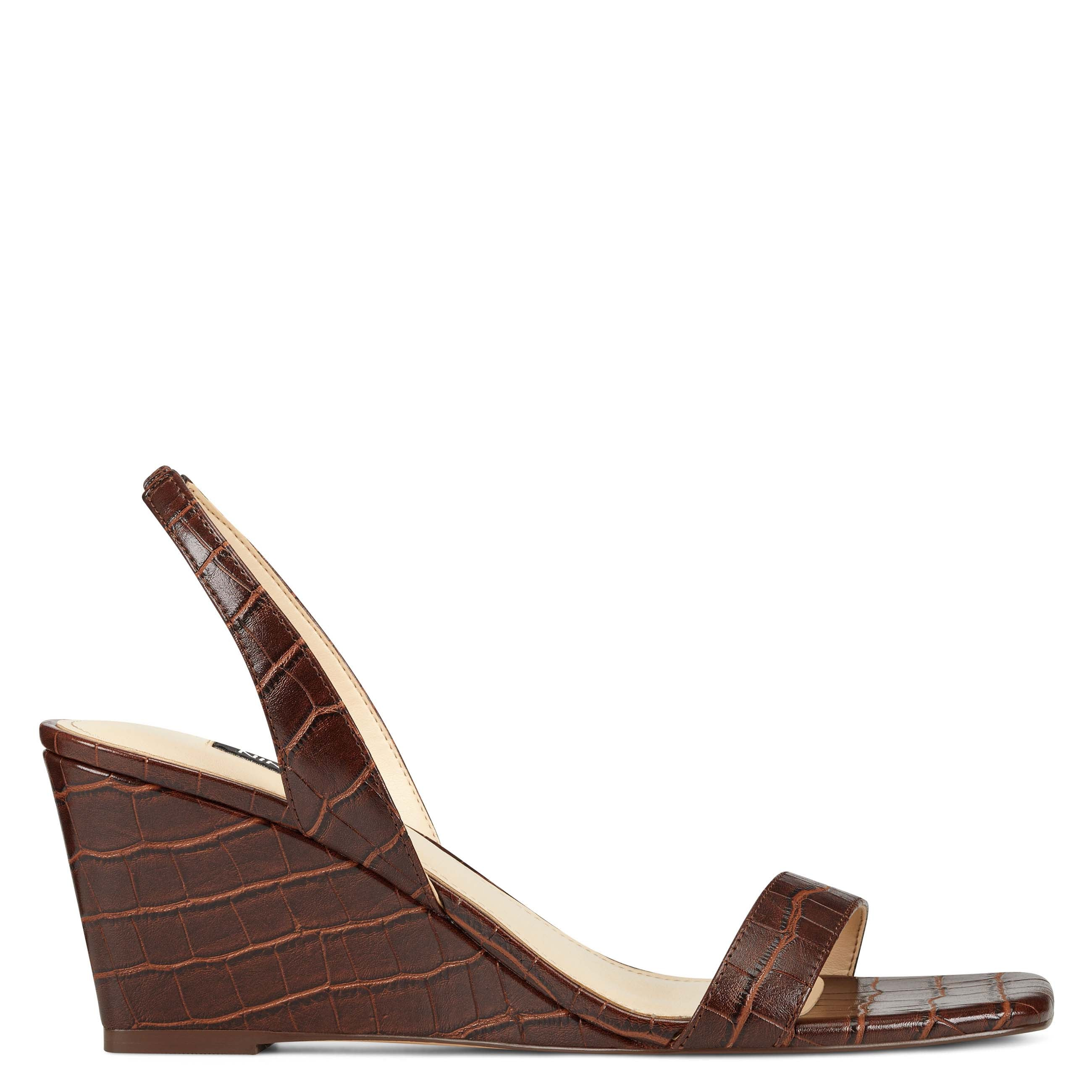 NINEWEST Kalia Wedge Slingback Sandals