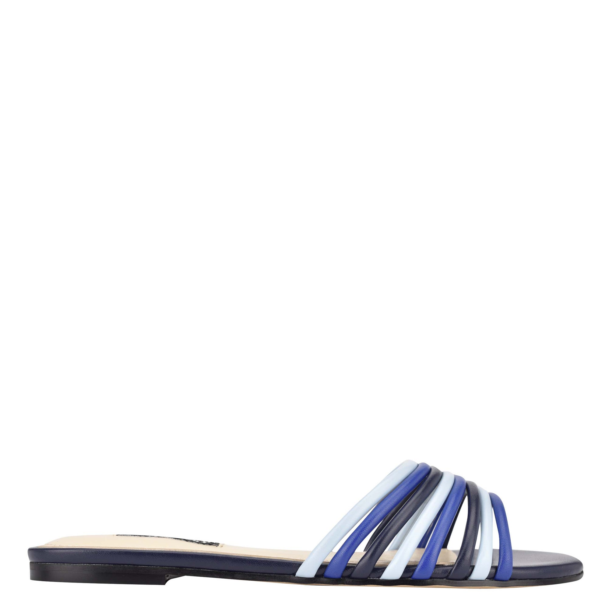 Links Flat Slide Sandals