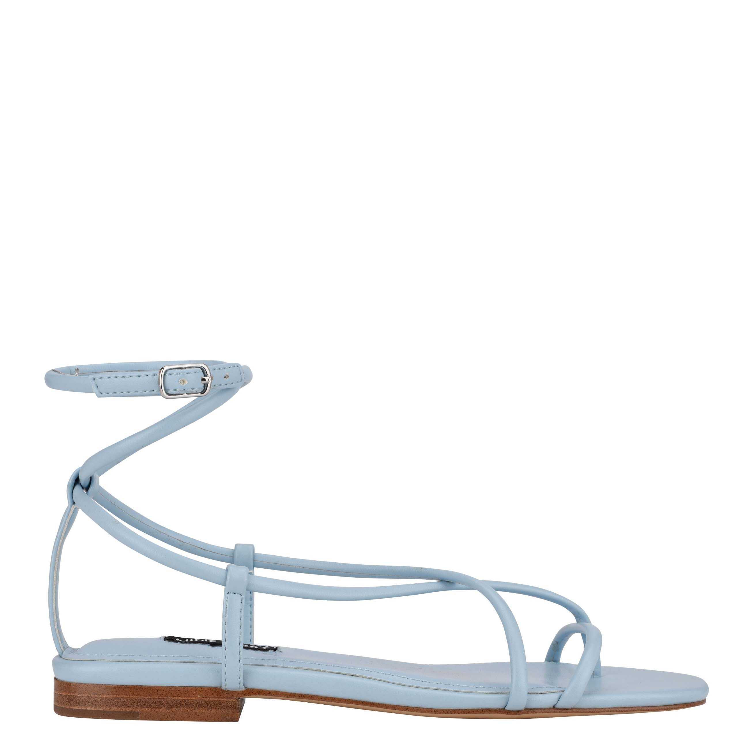 NINEWEST Mandie Strappy Flat Sandals