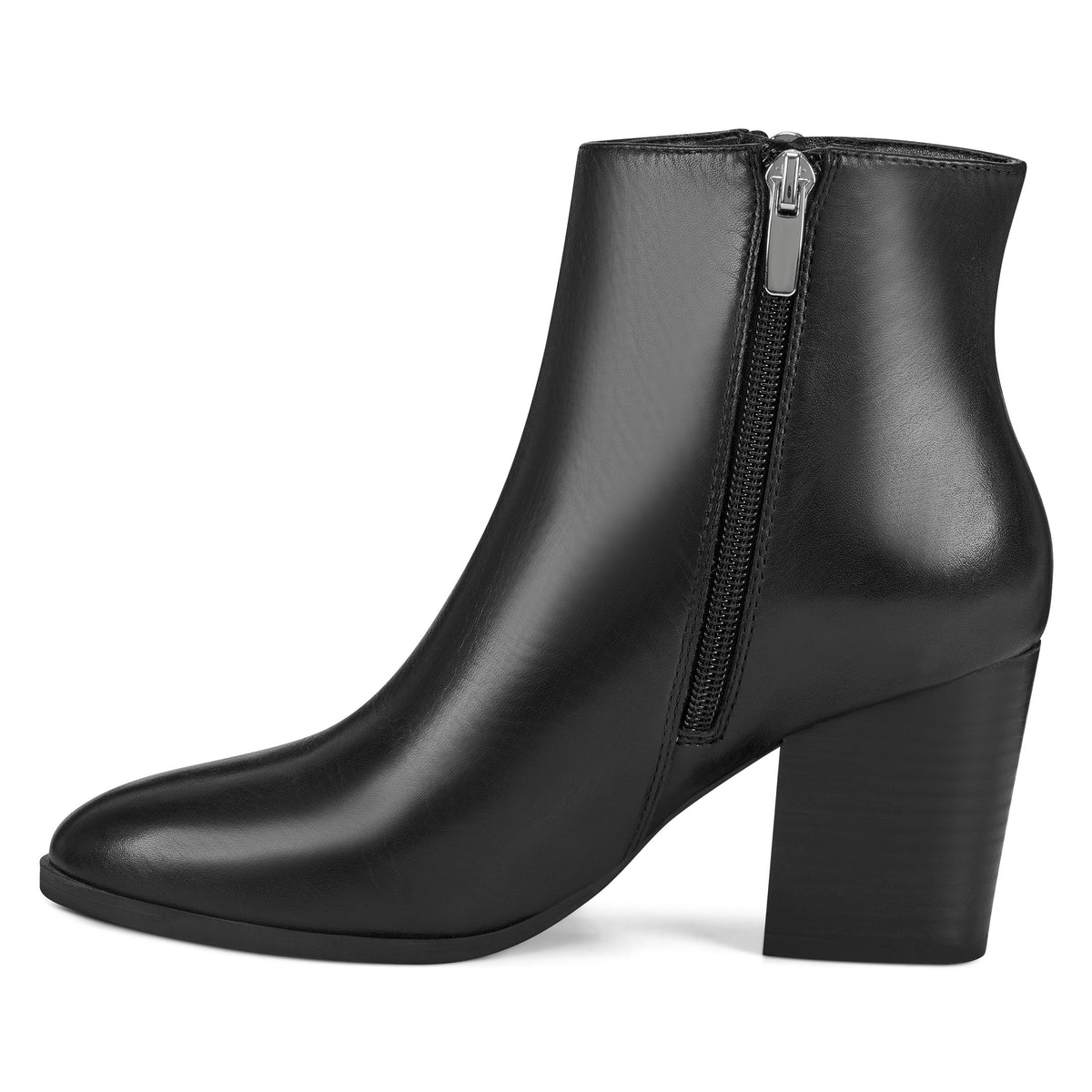 Niomi Round Toe Booties