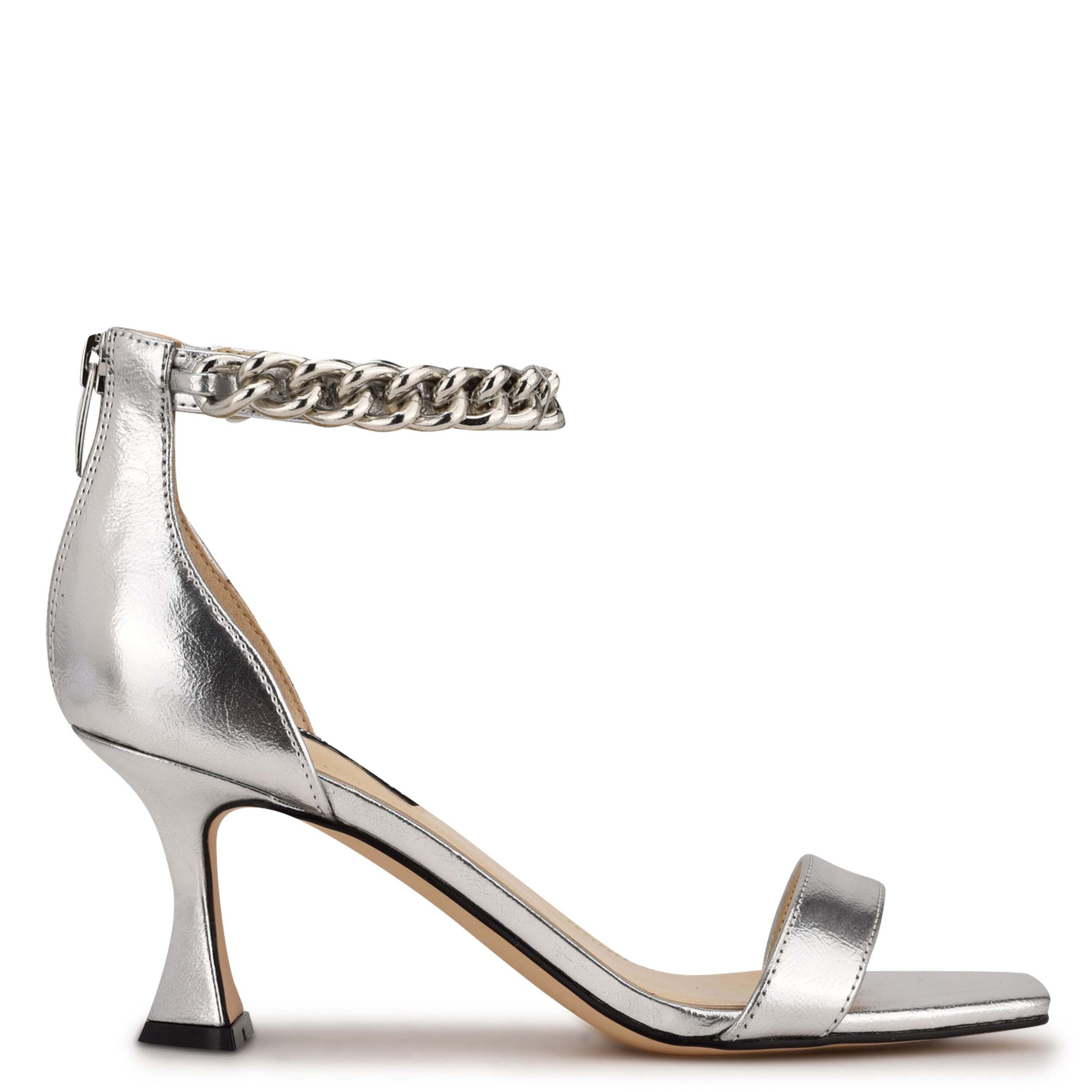 NINEWEST Palace Ankle Strap Heel Sandals
