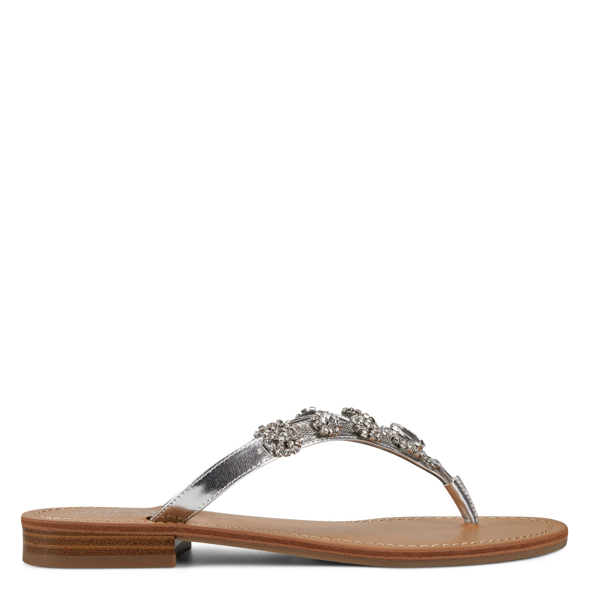 perfect-flat-slide-sandals-in-silver