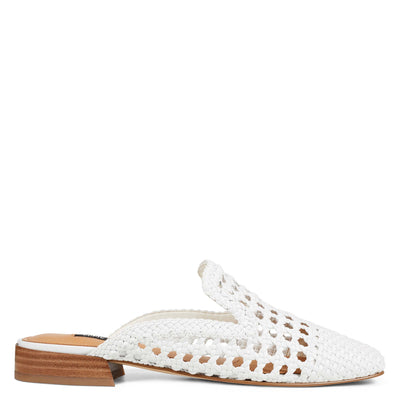 Shanie Woven Casual Mules