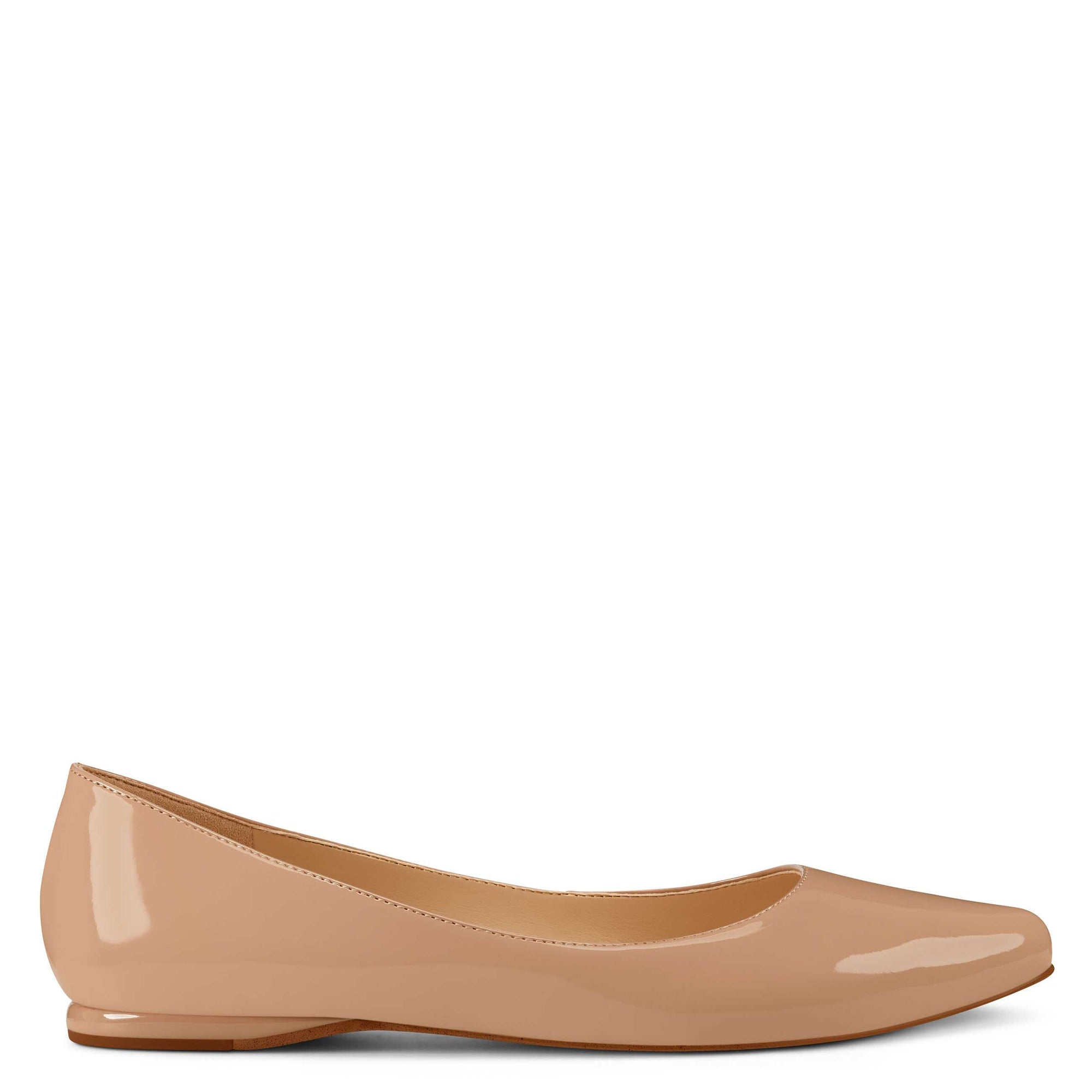 Speakup Almond Toe Flats