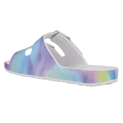 Splash Flat Slide Sandals