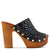 Star Heeled Clog Sandals