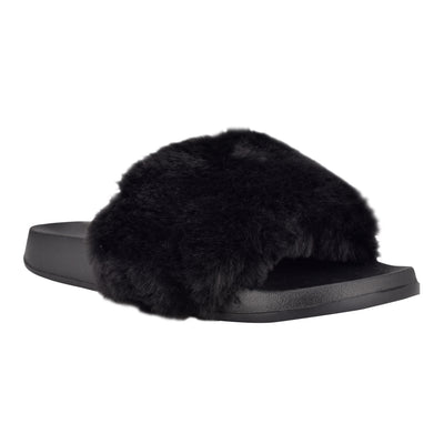Stayhome Cozy Flat Slide Sandals