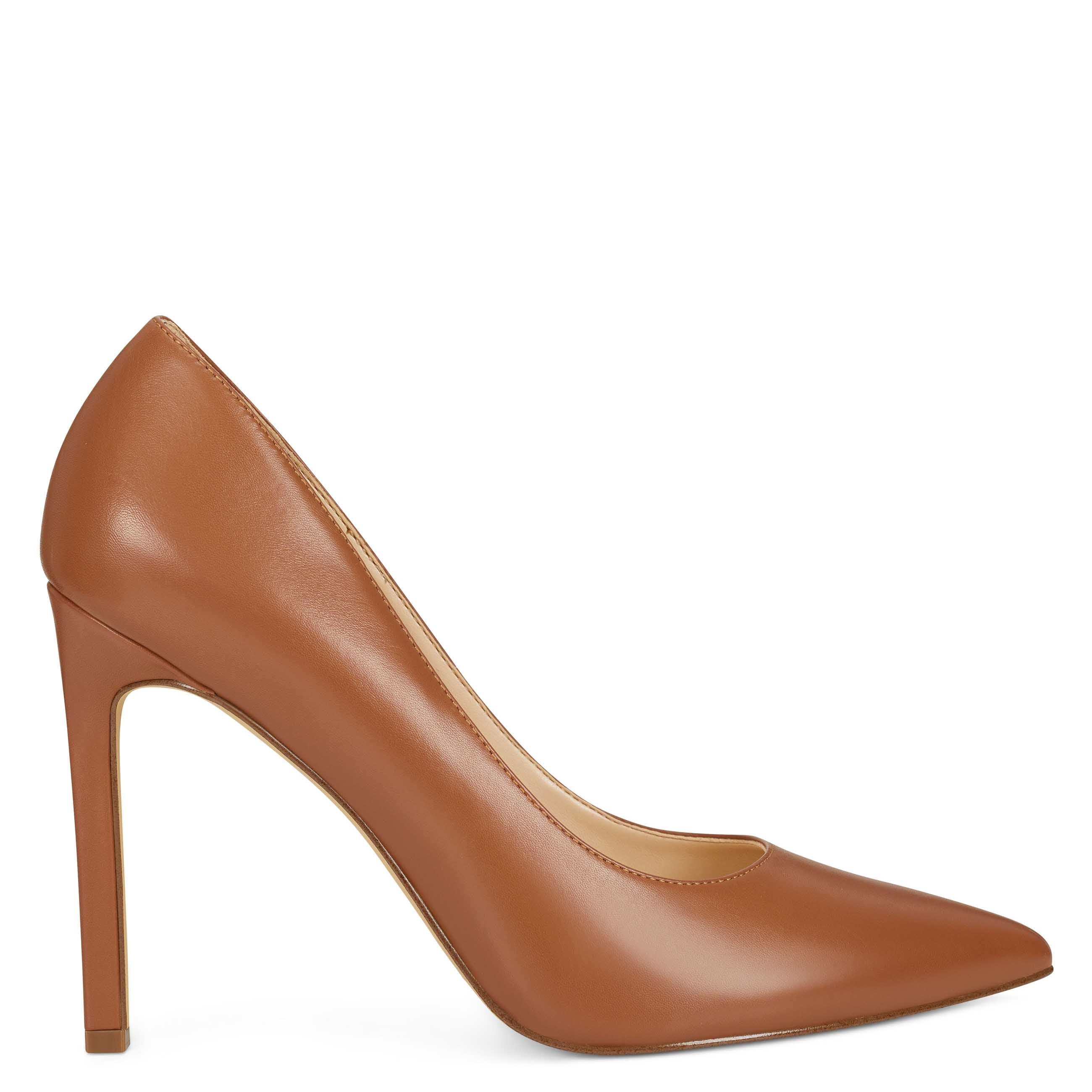 Pick SZ//Color. Nine West Womens Strong Leather Pointed Toe Flat