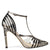 Terry Strappy Pointy Toe Pumps