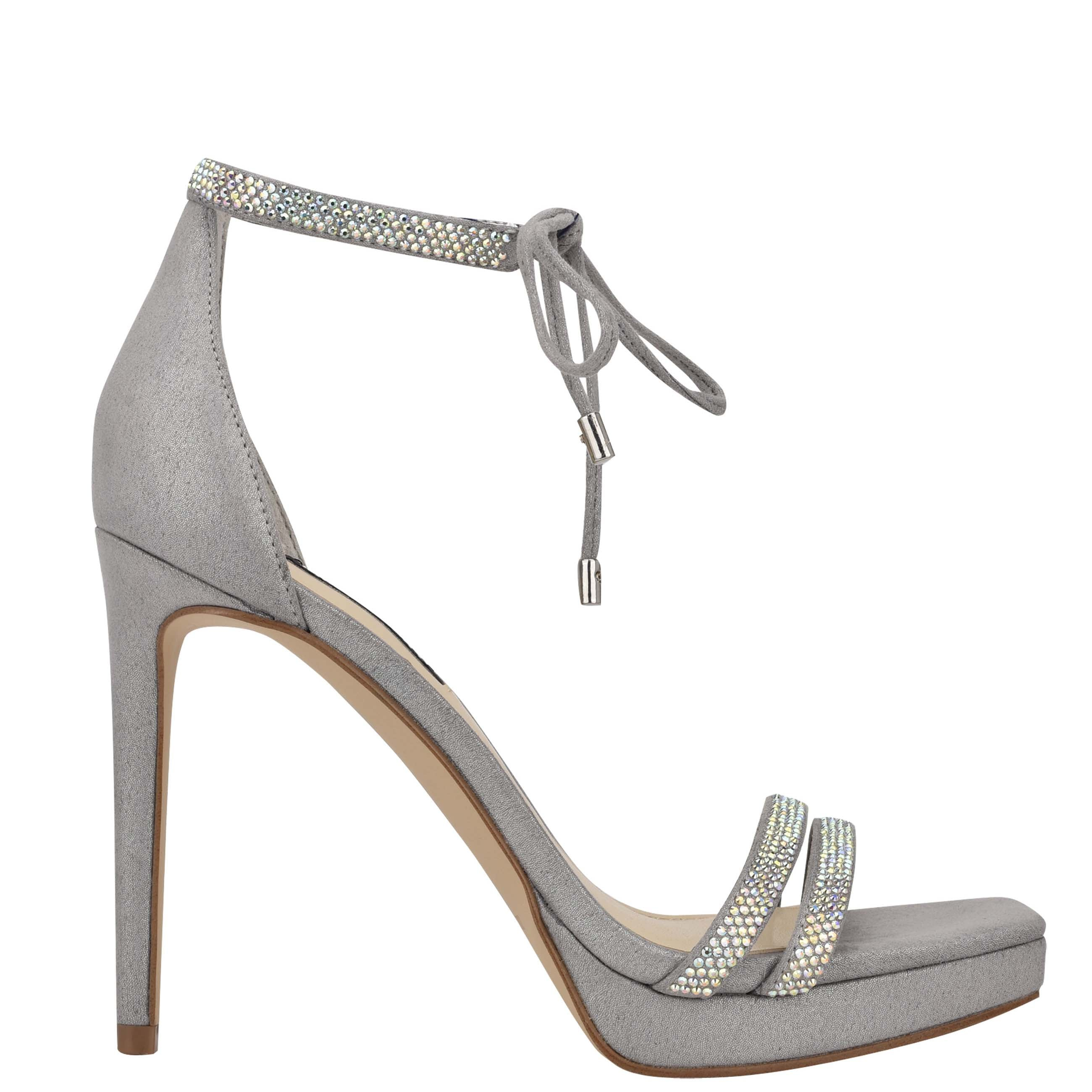 NINEWEST Zaedyn Ankle Tie Sandals