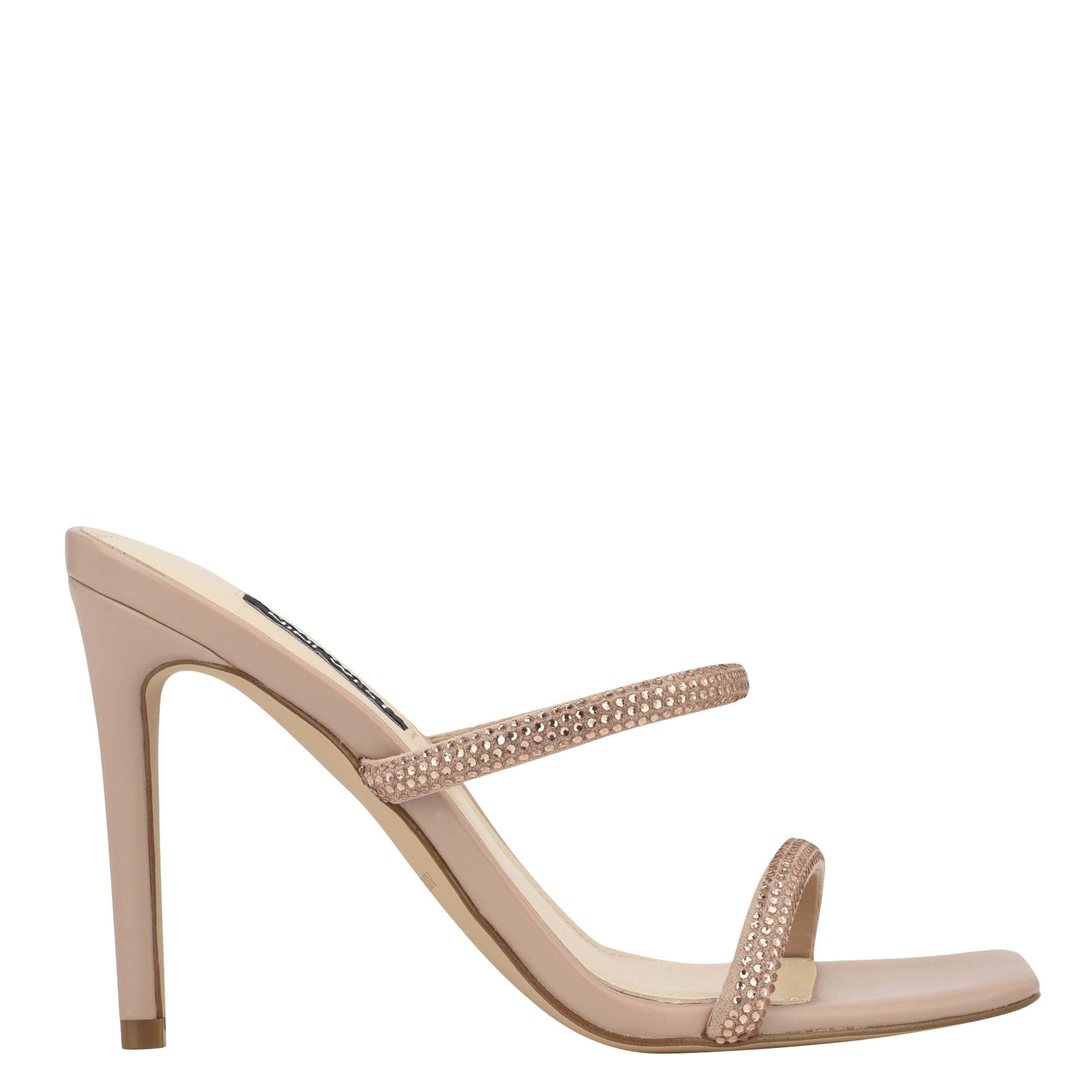 NINEWEST Zarleen Heeled Slide Sandals