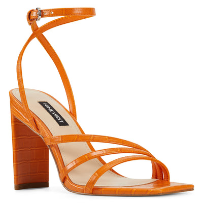 zelina-heeled-strappy-sandals-in-orange-embossed-croco