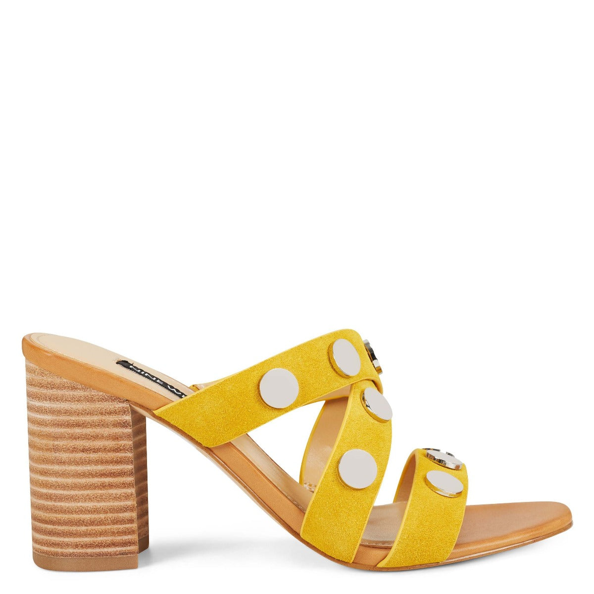 Yoana Heeled Slide Sandals