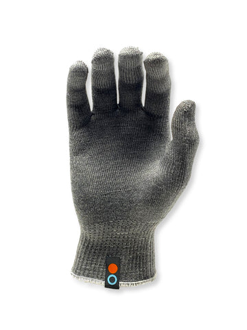 Small- BlocAid™ Gloves (College Gray) MADE FOR YOUTH
