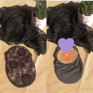 Little Black Pouch-  Stoma bag covers