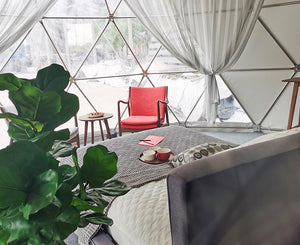 Open image in slideshow, Geodesic Dome 12 meters diameter