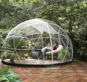Open image in slideshow, 4 Meter Geodesic Dome