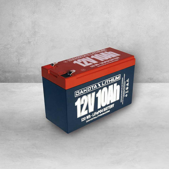 Dakota Lithium | 12V 10Ah battery - Taps and Tackle Co.