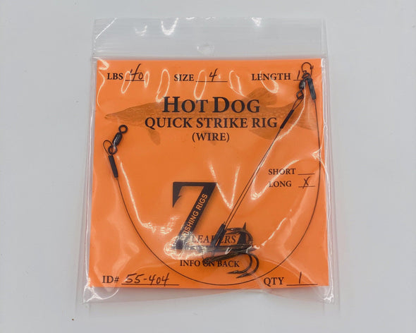 Z-Leaders | Hot-Dog Quick Strike Rig - Taps and Tackle Co.