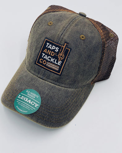 Legacy Hats | Trucker - Taps and Tackle Co.