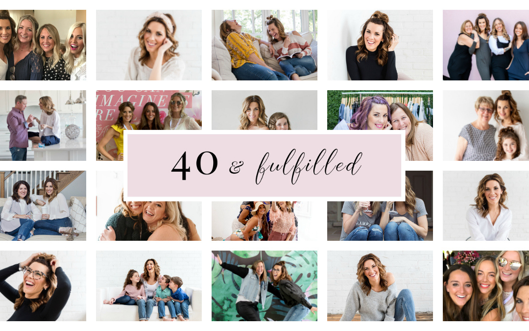 40 things I've learned turning 40