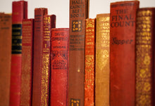 Load image into Gallery viewer, SOLD Floating Library - Red Vintage