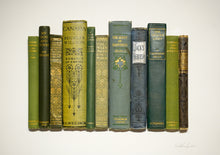 Load image into Gallery viewer, SOLD Floating Library - Green Vintage