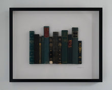 Load image into Gallery viewer, Floating Library - Turquoise Vintage Poetry