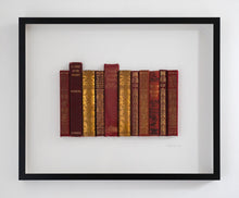 Load image into Gallery viewer, Floating Library - Vintage Red and Gold