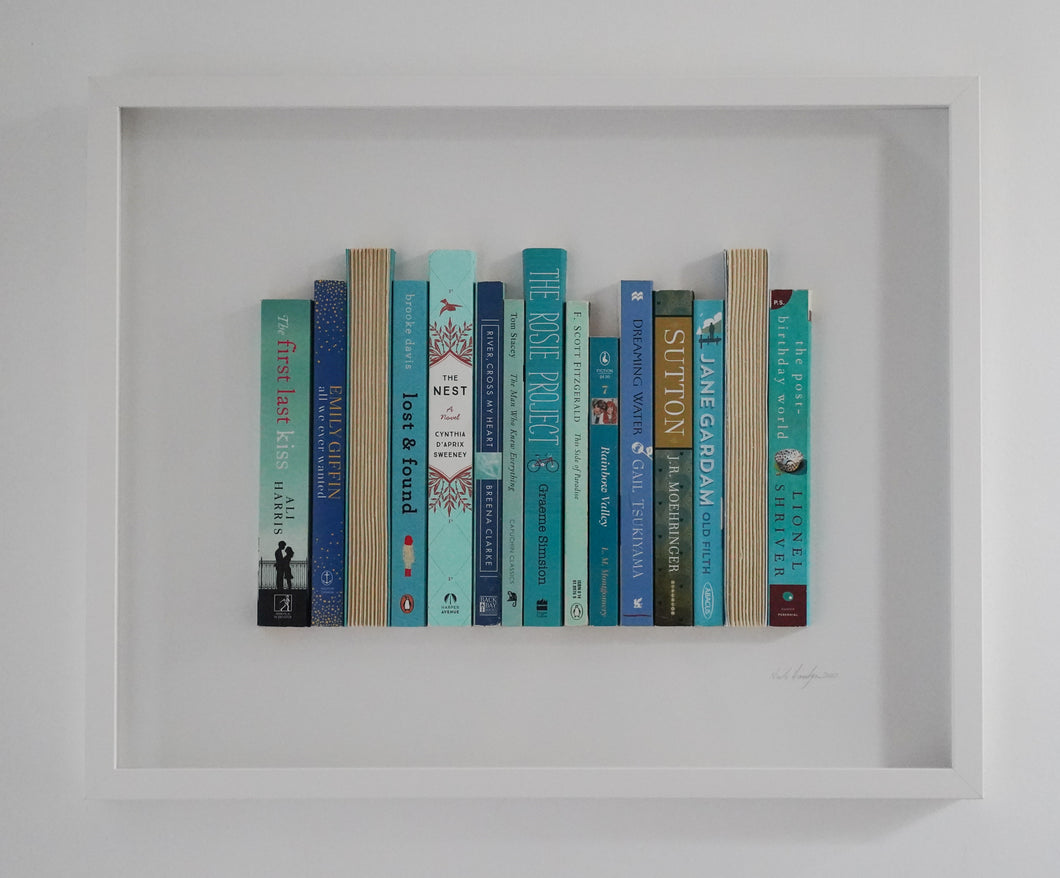 Floating Library - Turquoise