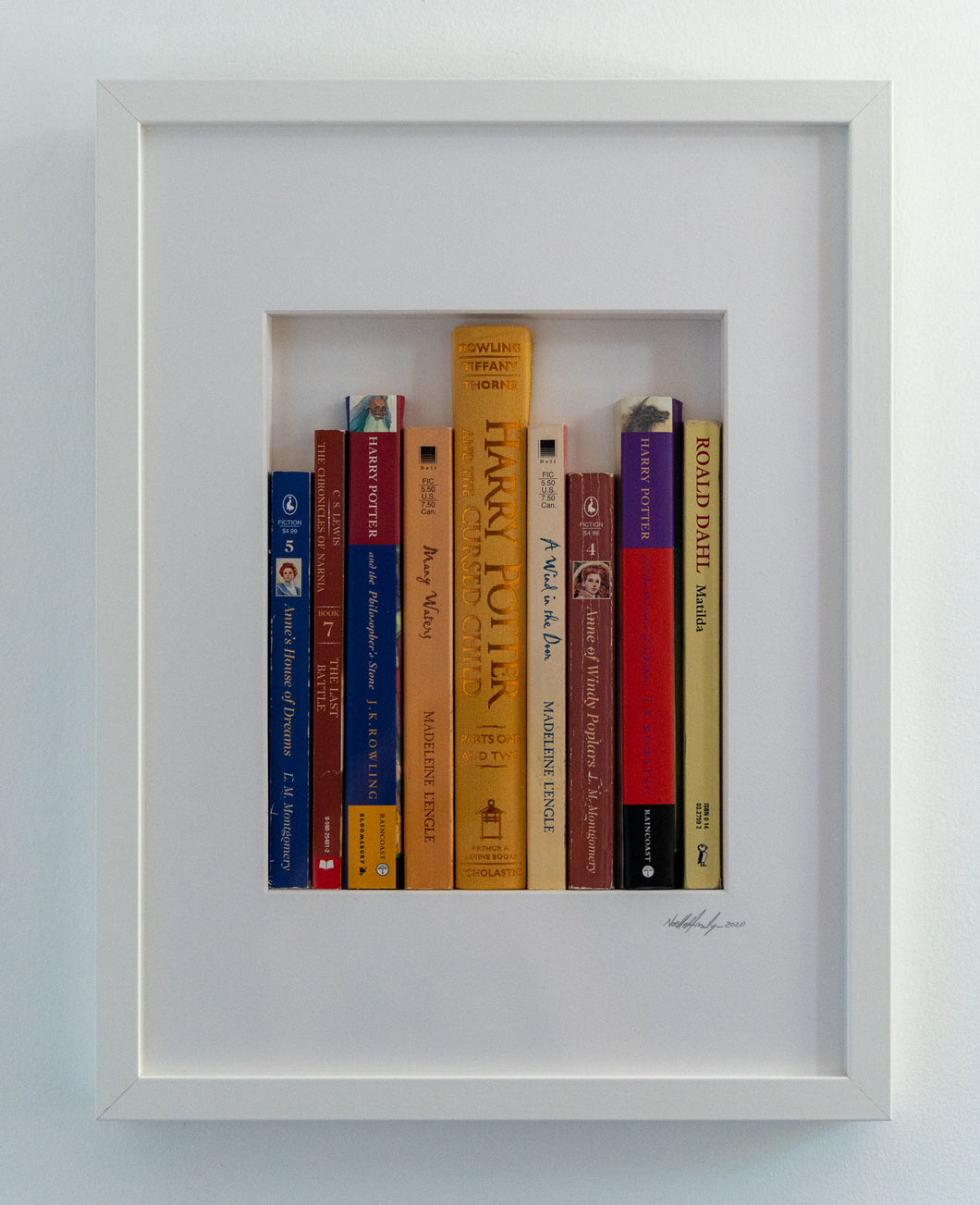 SOLD Small Library - Harry Potter