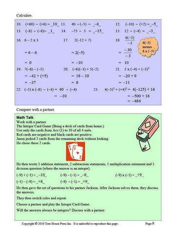 Image of Applied Math 9 Answer Book (Download)