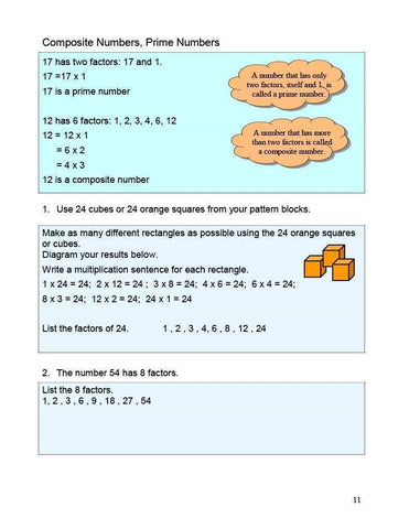 Image of Canadian Math 6 Answer Book (Download)