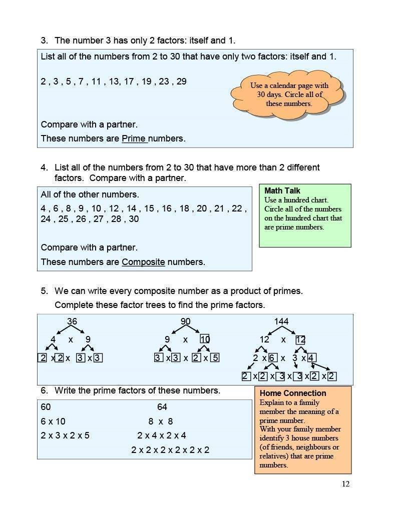 Ontario Math 6 Answer Book (Download)