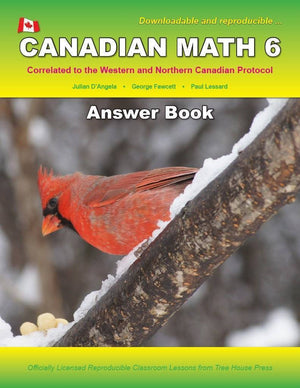 Canadian Math 6 Answer Book (Download)