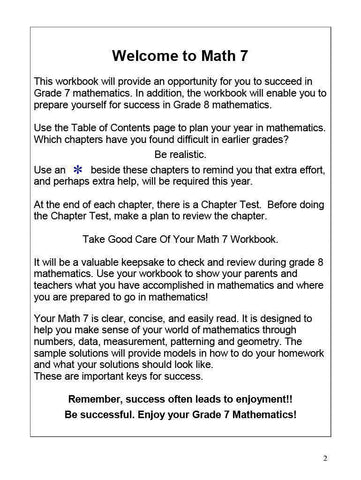 Canadian Math 7 (Download)