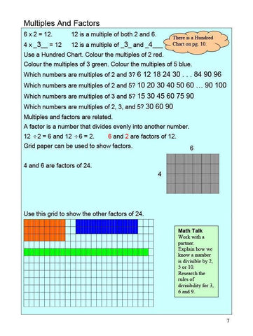 Image of Canadian Math 7 Answer Book (Download)