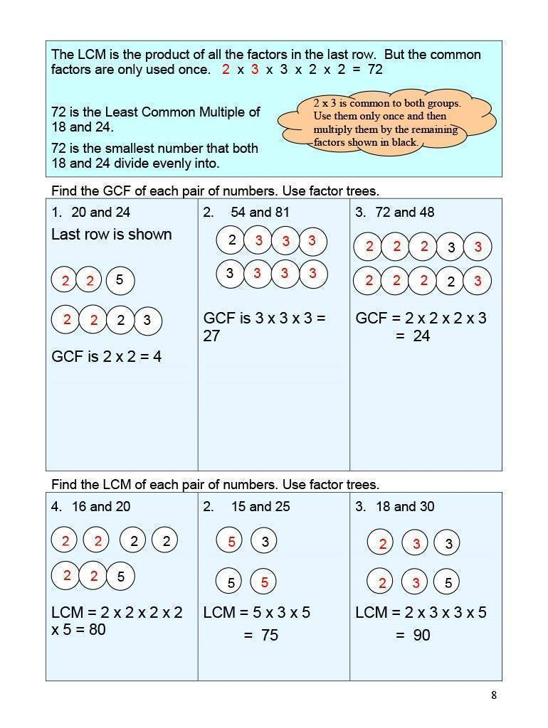 Ontario Math 8 Answer Book (Download)